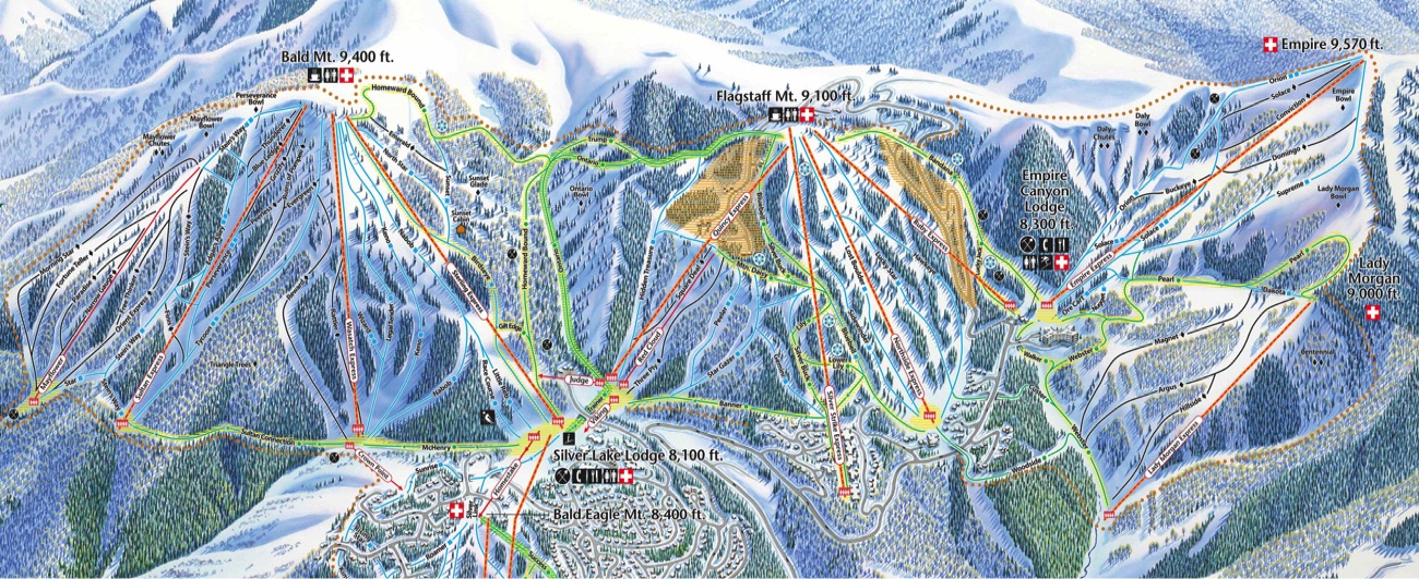 Deer Valley Map The Best Deer 2017